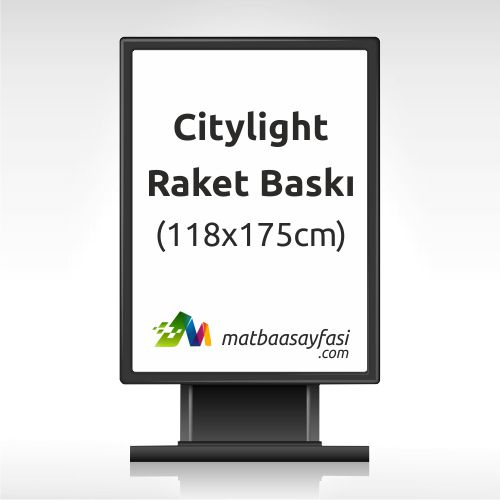 Citylight - Raket Baskı 118x175