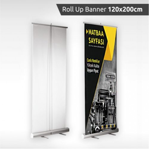 Roll Up Banner 120 x 200 cm