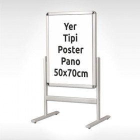 Yer Tipi Poster Pano 50x70 cm