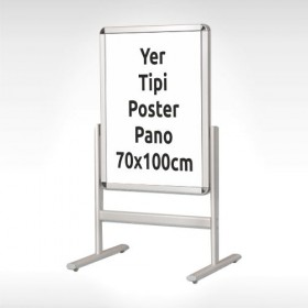 Yer Tipi Poster Pano 70x100 cm